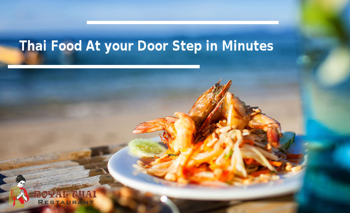 thai food at your door
