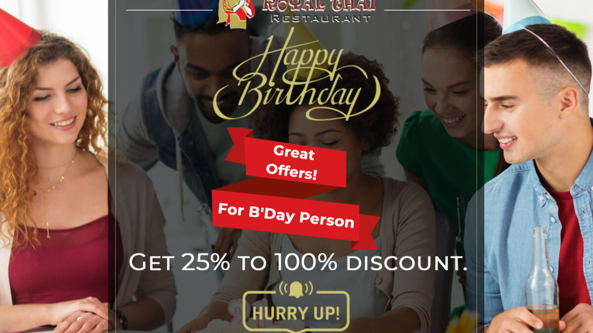 Special Birthday Offer